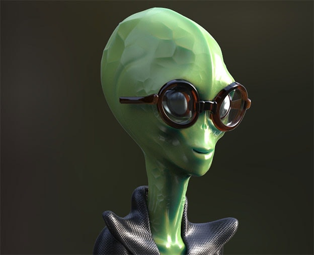 3D-Design Maskottchen