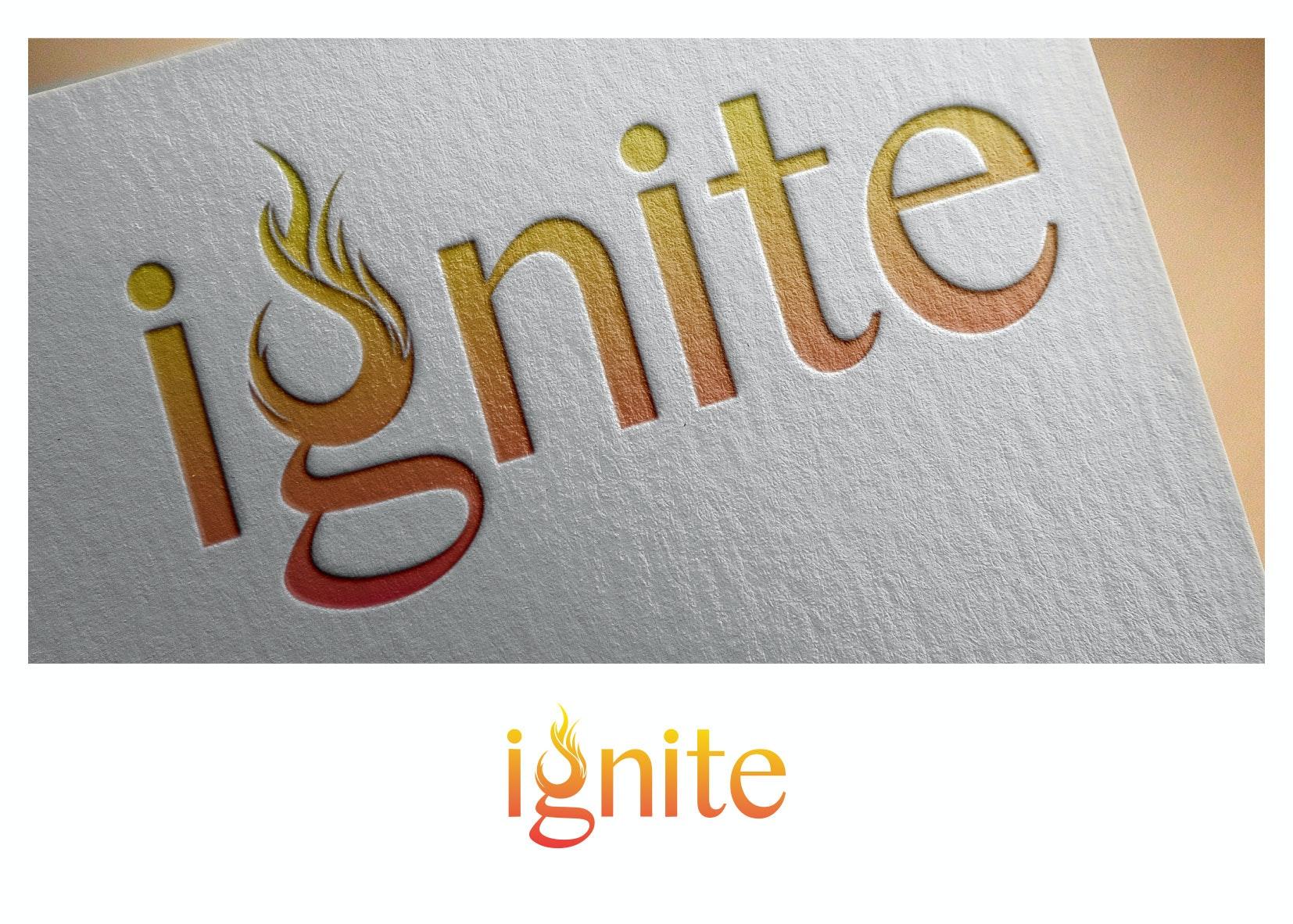 9 ignite logo entwurf