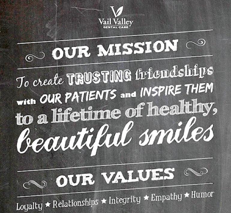Incorporer vos valeurs à votre énoncé de mission