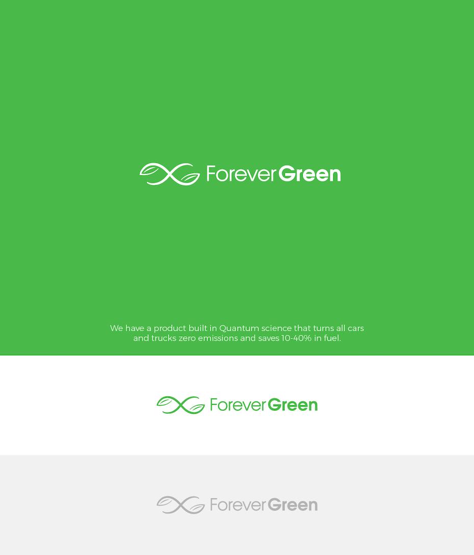 Logo écolo réalisé pour Forever Green
