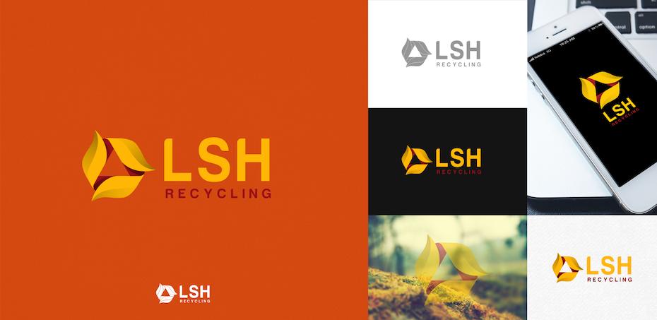 Logo réalisé pour LSH