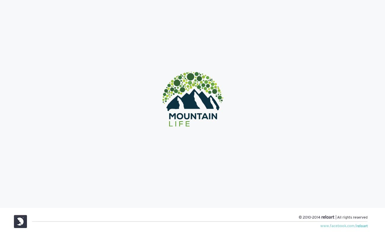 Logo réalisé pour Mountain Life