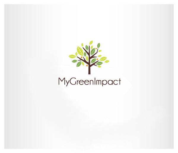 Logo écolo réalisé pour MyGreenImpact