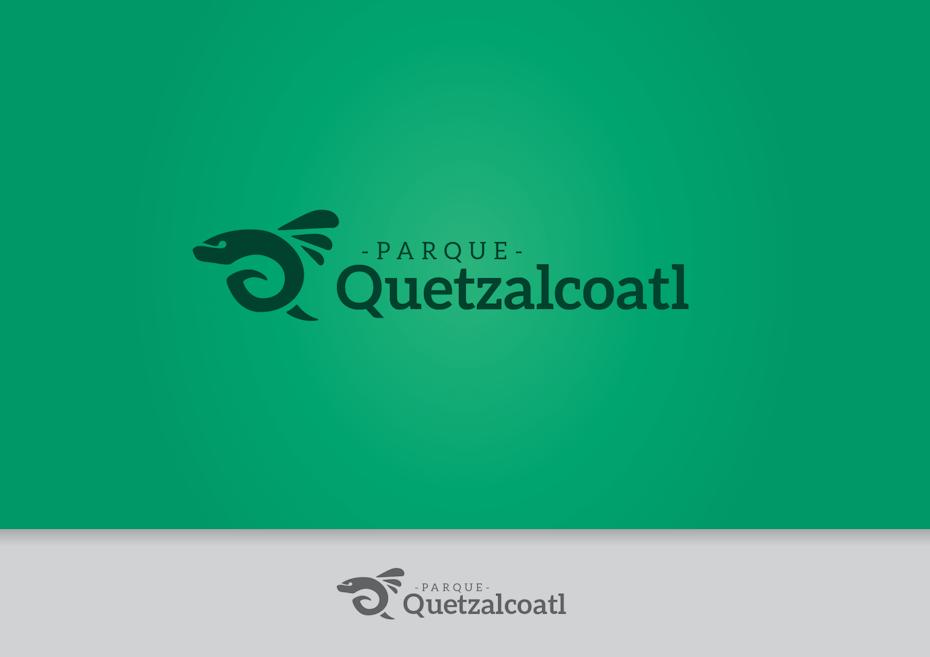 Logo réalisé pour the Parque Quetzalcoatl