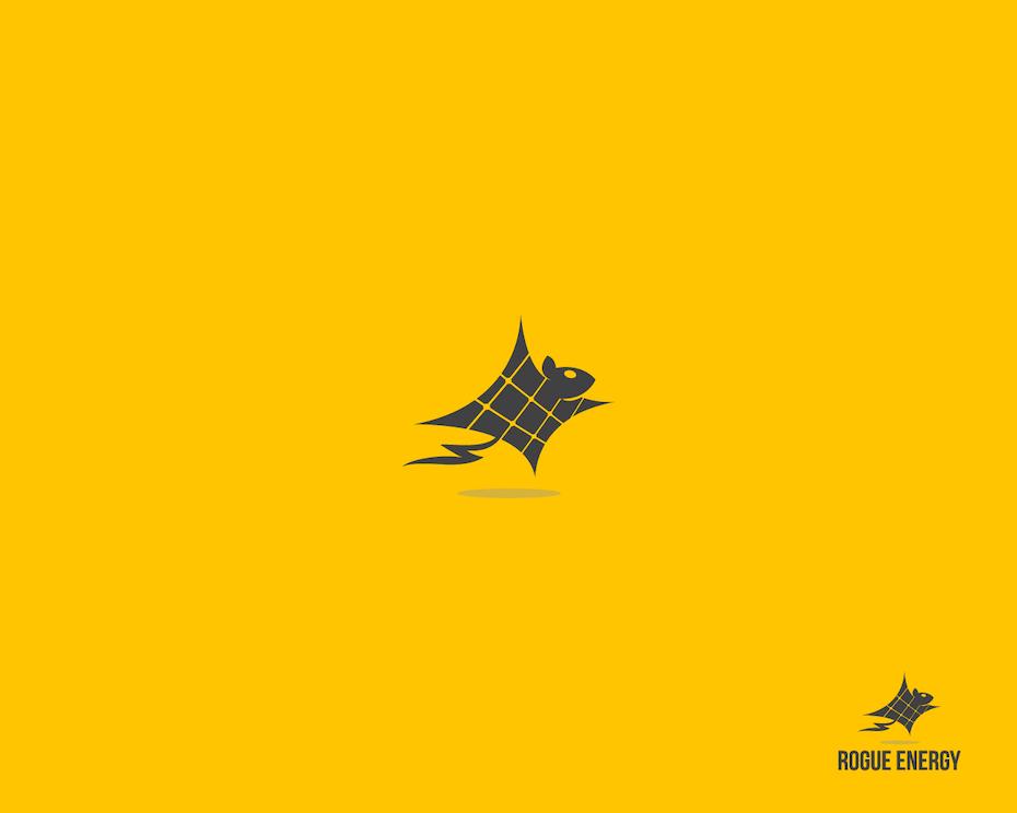 Logo environnemental réalisé pour Rogue Energy