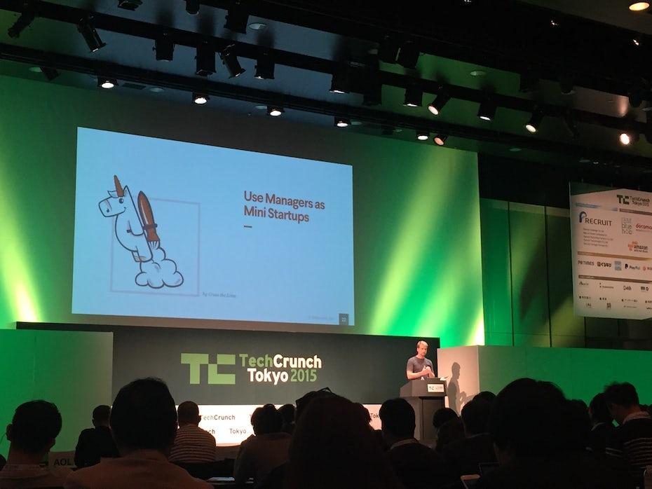techCrunch design