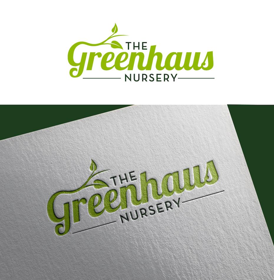 Logo environemental réalisé pour le Greenhaus Nursery