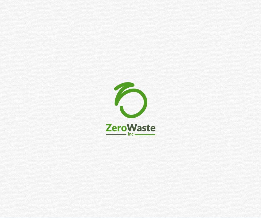 Logo écolo réalisé pour ZeroWaste Inc