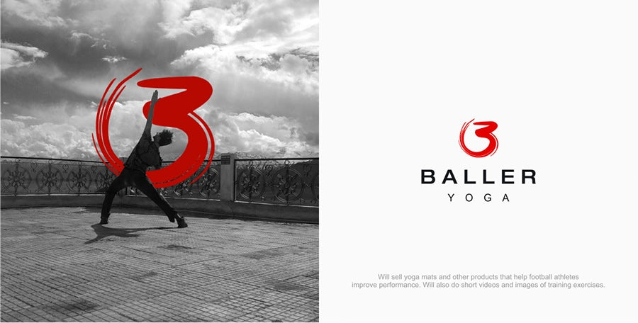 baller yoga logo