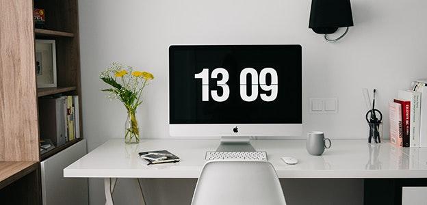 Sobald Dein Arbeitsplatz Fertig Ist, Etabliere Eine Gleich Bleibende  Routine. Sicher, Einer Der Vorteile Zu Hause Zu Arbeiten, Ist, In Der Lage  Zu Sein Zu ...