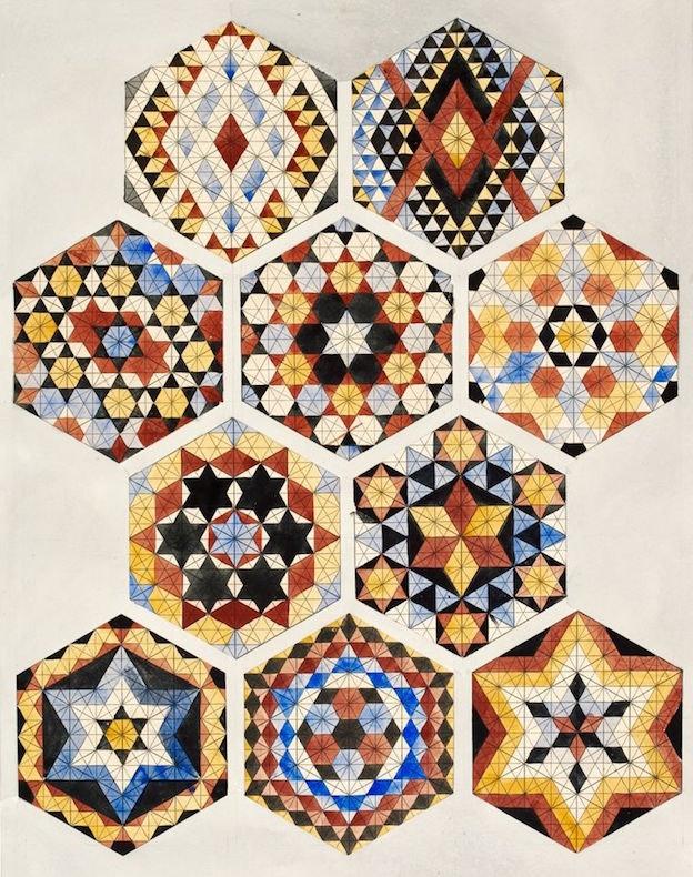 Victorian mosaic