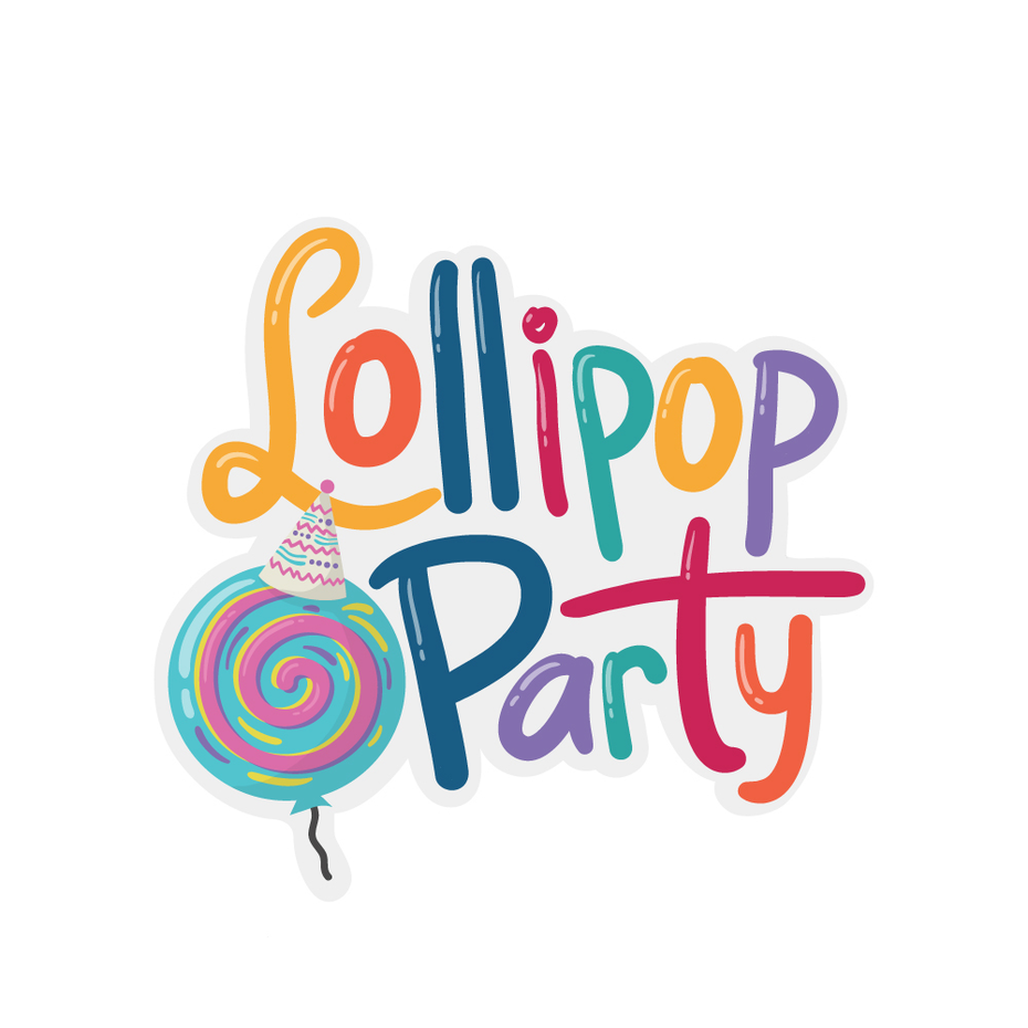 16 lollipop party logo