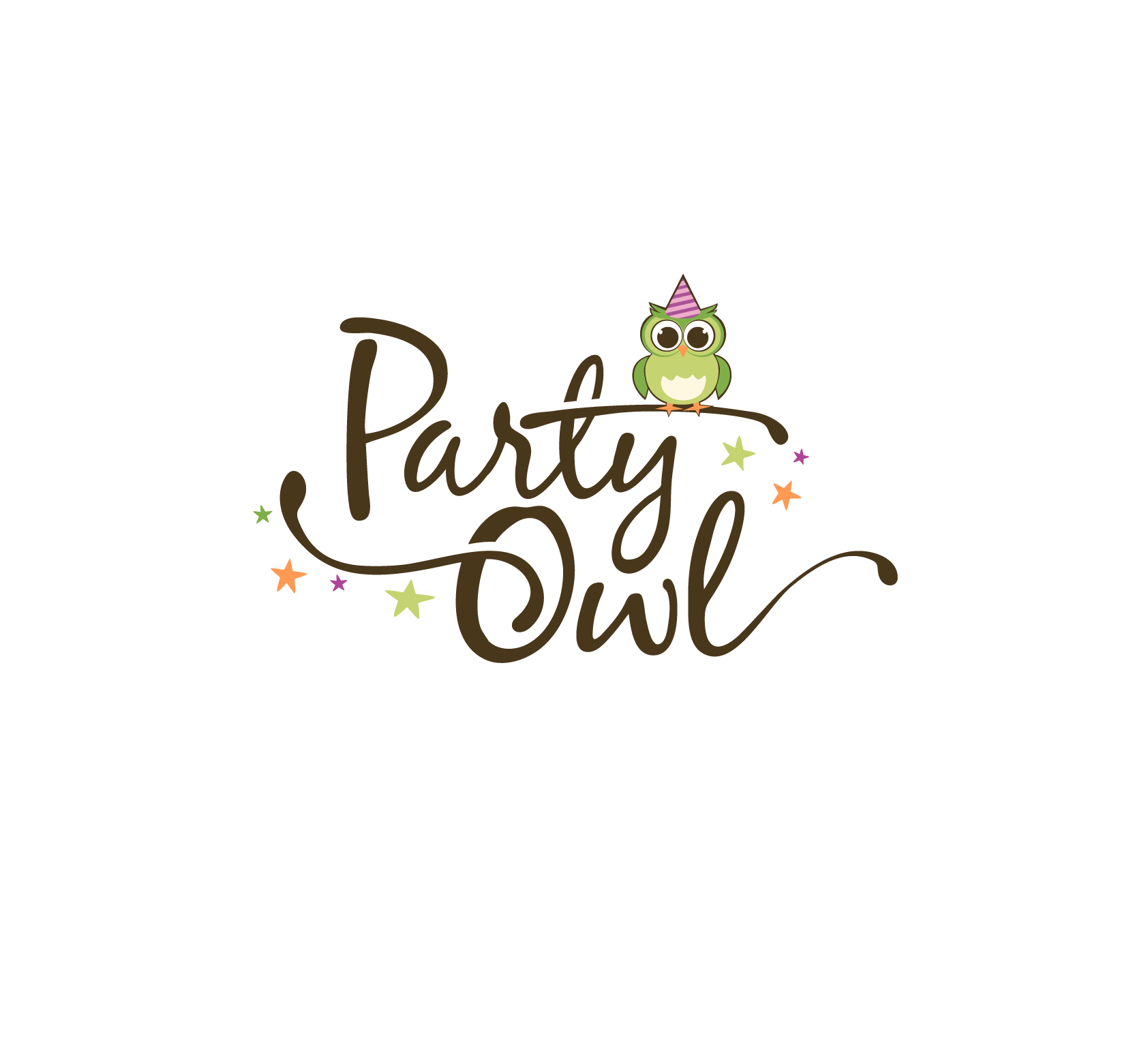 17 party owl logo