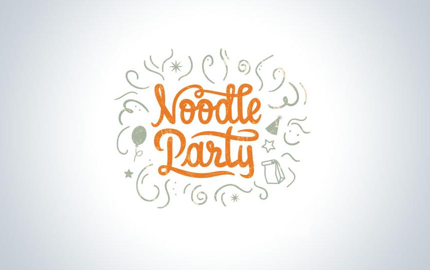 18 nudelparty logo