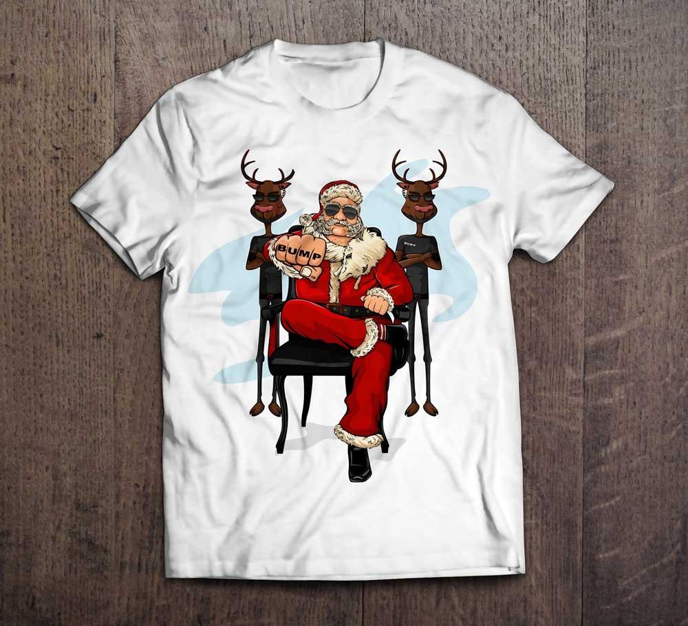 19 t-shirt weihnachtsmann