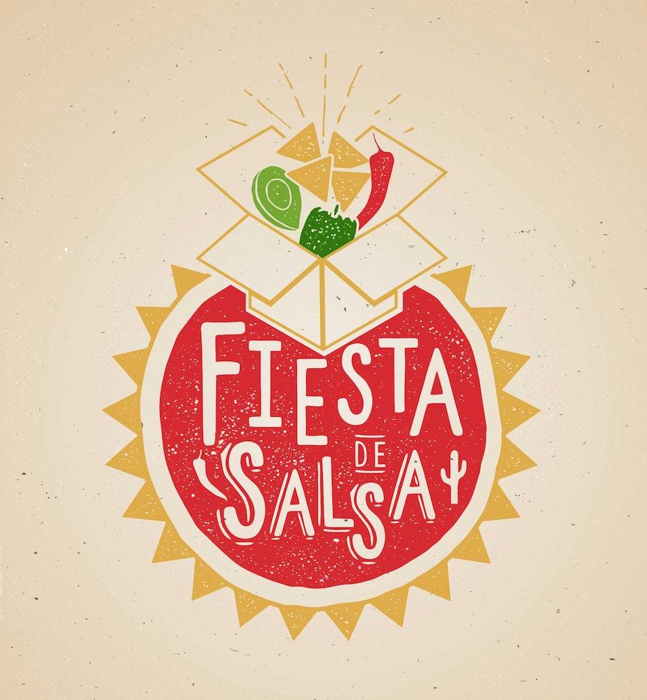 22 fiesta salsa logo