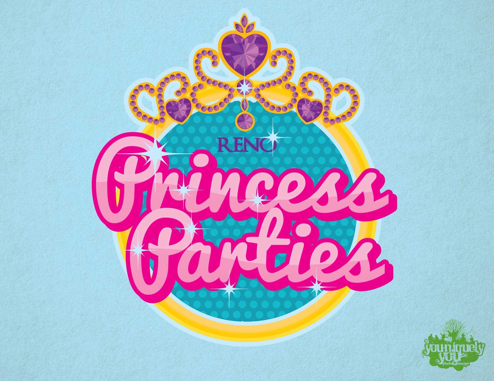 23 princess party logo