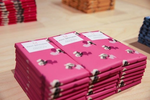 Mast Brothers chocolate design