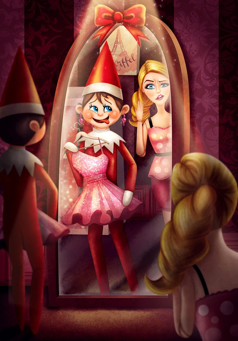 3 elf on the shelf