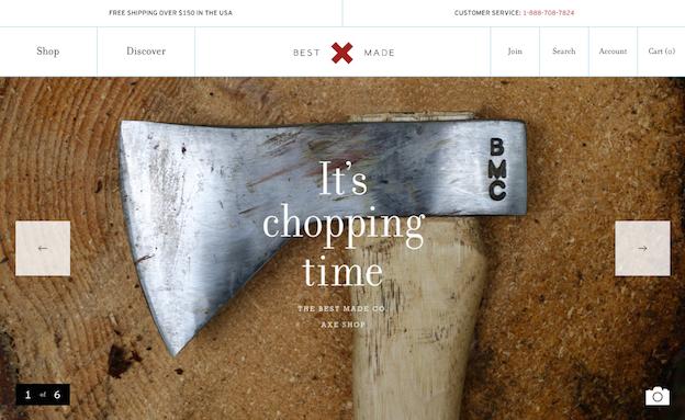 Best Made Co. Website
