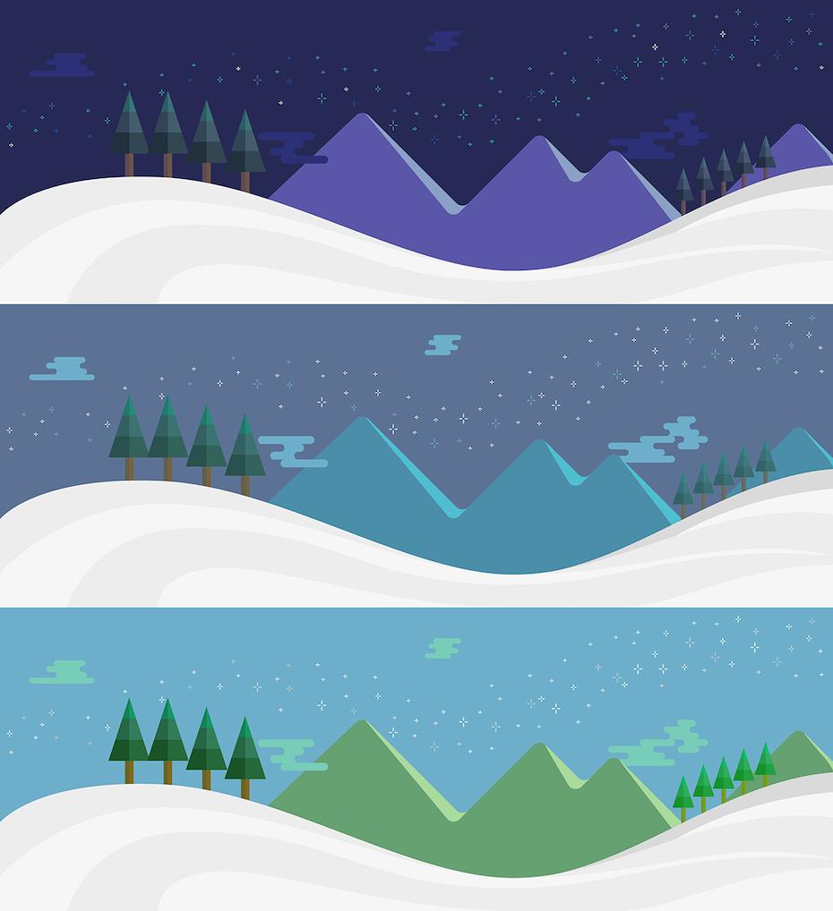 43 winterlandschaft