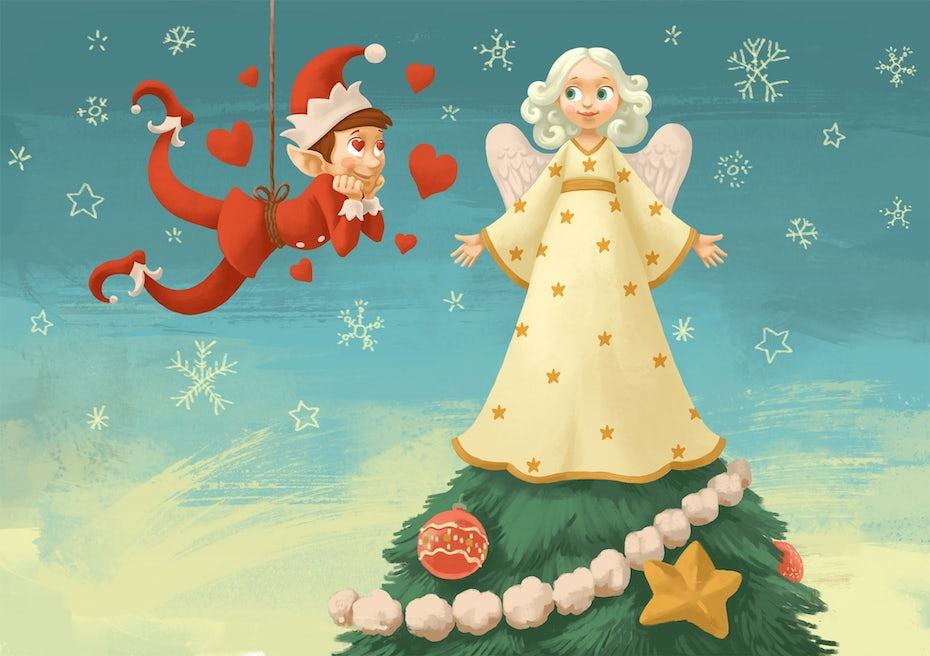 5 illustration elfe