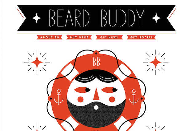 Beard Buddy Website