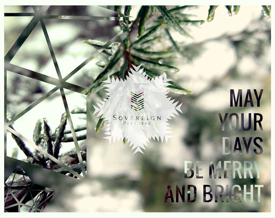 8 weihnachtskarte