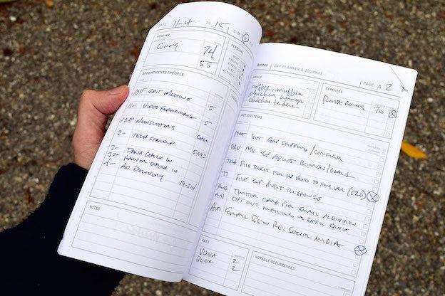 Active Notebook - Designer Gift Guide