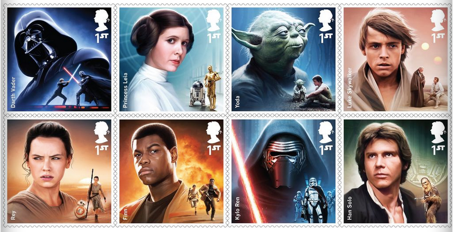 star wars briefmarken