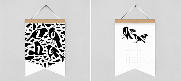 Creative Calendars - Bird Plus Bird
