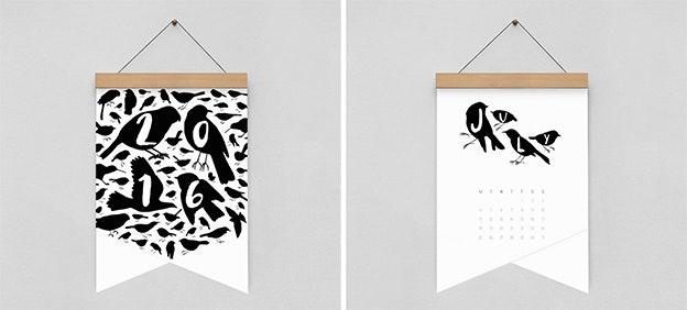 Creative Calendars - Bird Plus Bird