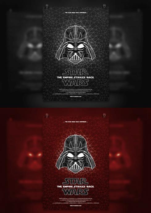 Poster de star Wars
