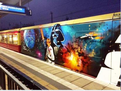 Star Wars dans les metro