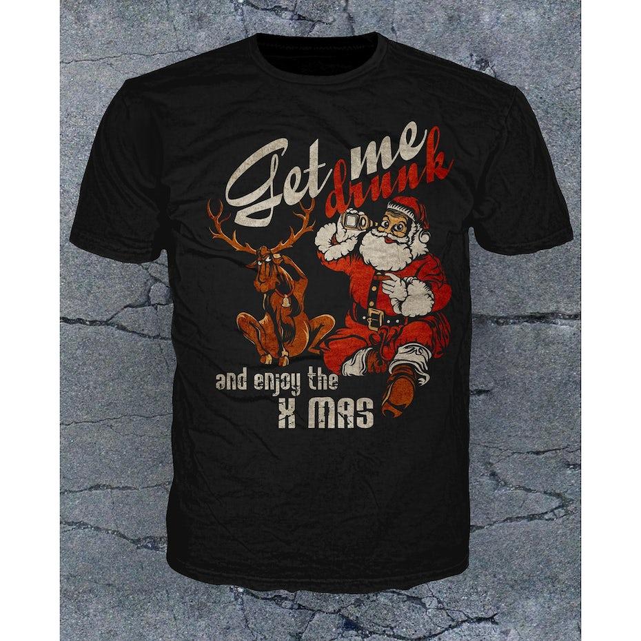 T-shirt de Noel