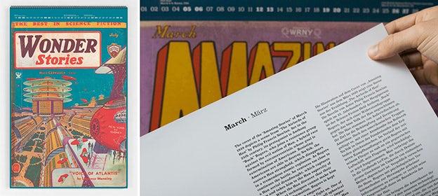 Creative Calendars - Slanted