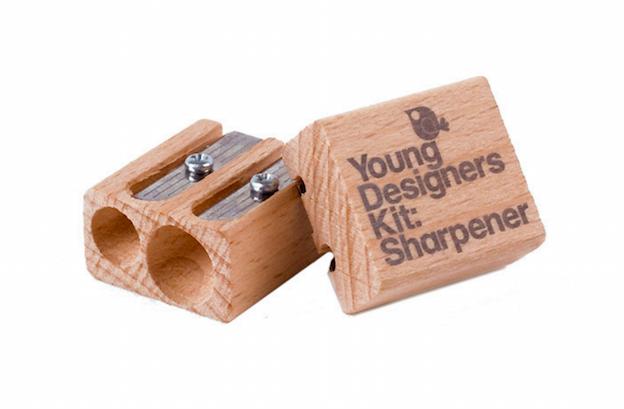Young Designers Kit Sharpener - Designer Gift Guide