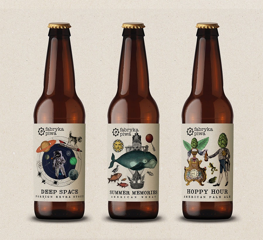 beer label design by martis lupus