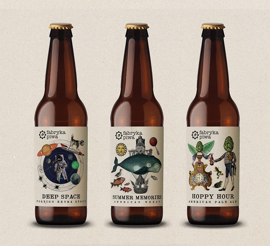 beer label design by martis lupus