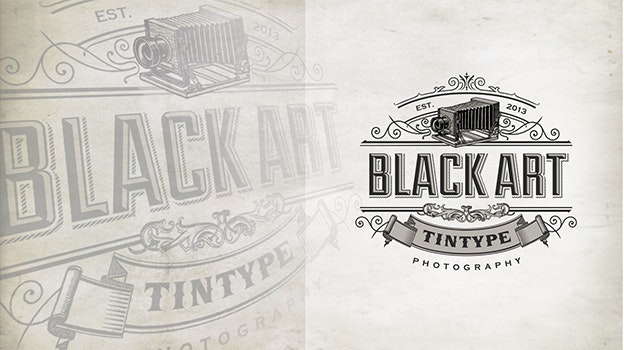 Black Art Tintype Photography