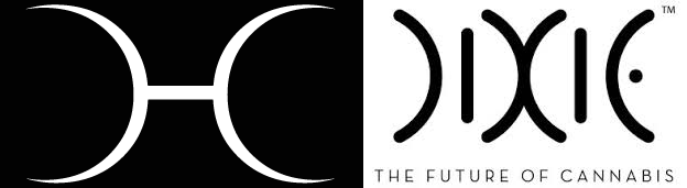Elegant cannabis logos
