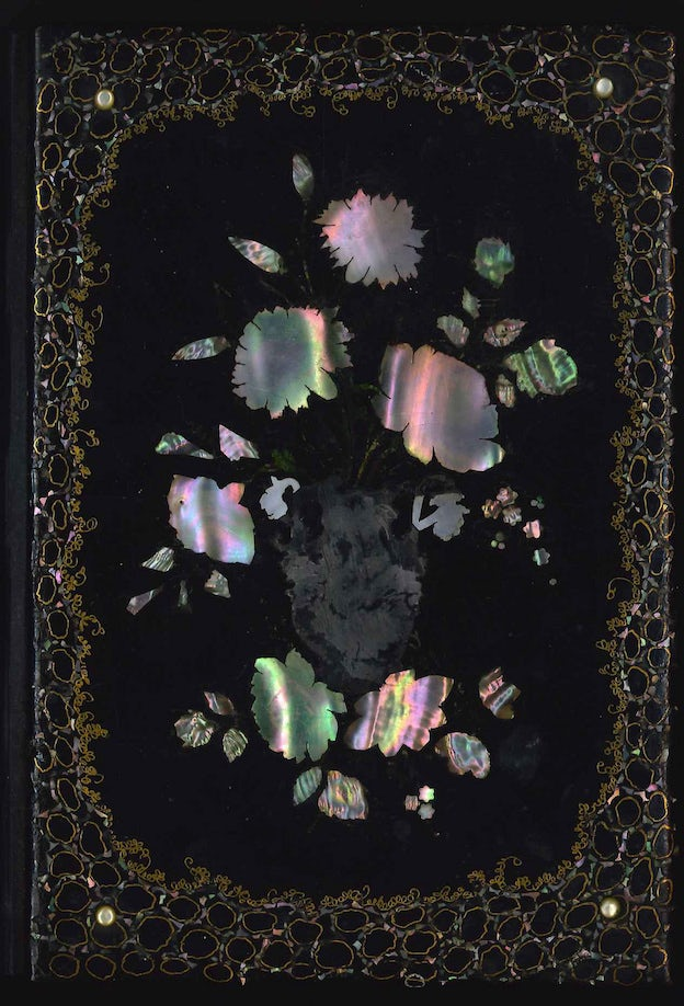 Mother of Pearl book binding