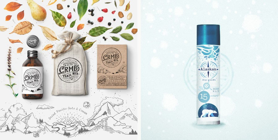 packaging and label design by martis lupus