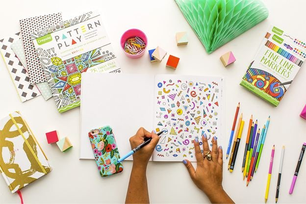 Pattern Play Brit Cos New Coloring Book For Adults Via Co