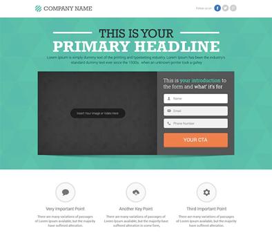 créer une landing page efficace