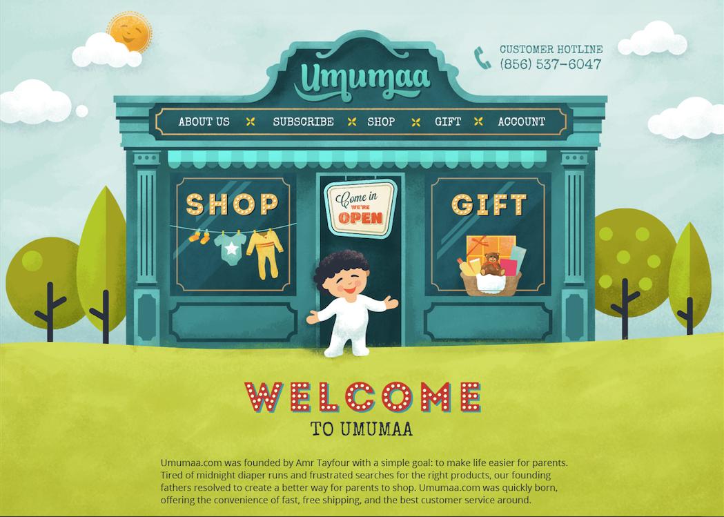 shop gift webdesign