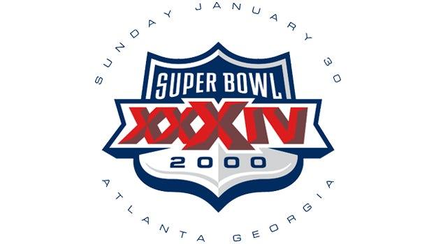Super Bowl XXXIV logo