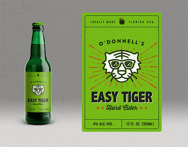 Easy Tiger Hard Cider
