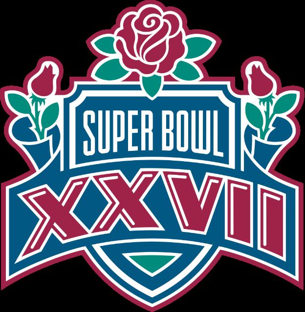 Super bowl XXVII logo