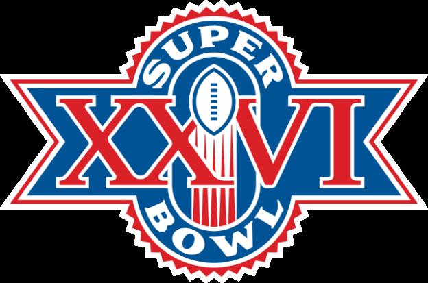 Super Bowl XXVI logo